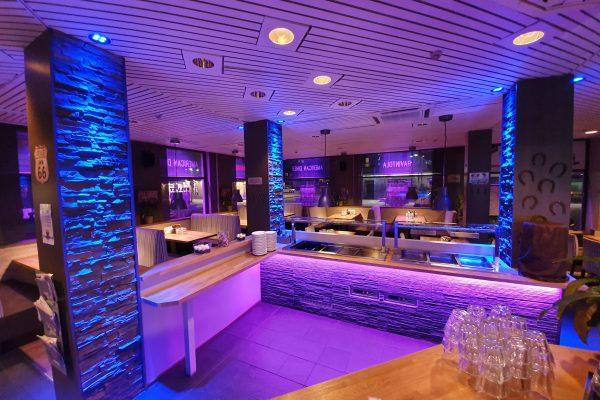 Ravintolan LED-valaistus